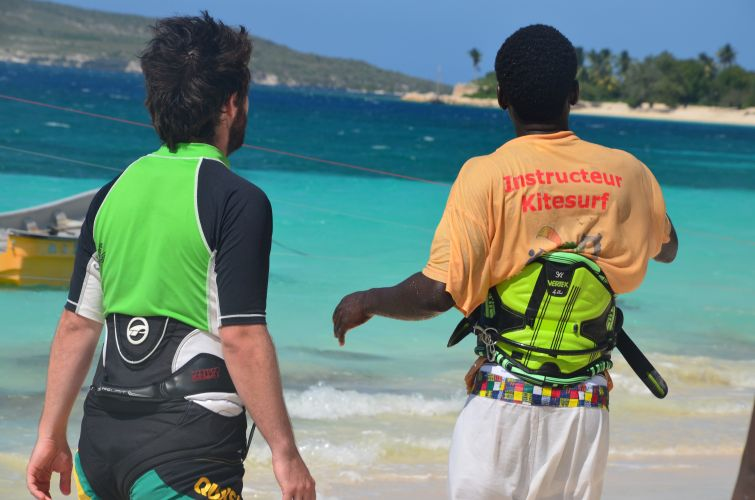 instructeur kitesurf